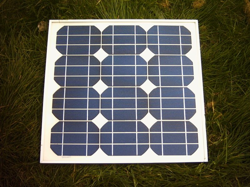 18v 20watt Framed Solar Panel